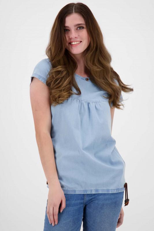"""ALIFE AND KICKIN Damen T-Shirt - """"SummerAK DNM Shirt light denim"""""""