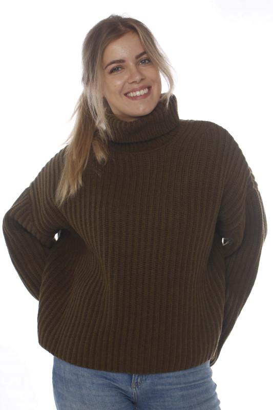 """Samsoe & Samsoe Damen Pullover - """"Keiko col.11250 dark olive"""""""