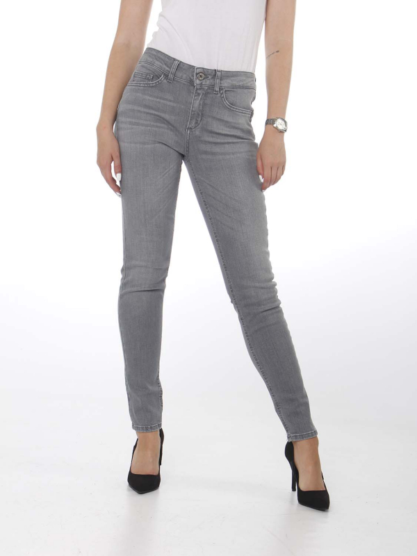 "Liu Jo Damen Jeans . ""ESC B.up divine h.w. den. grey"""