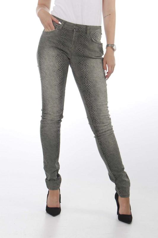 "Zhrill Damen Jeans - ""Daffy olive W8160"""