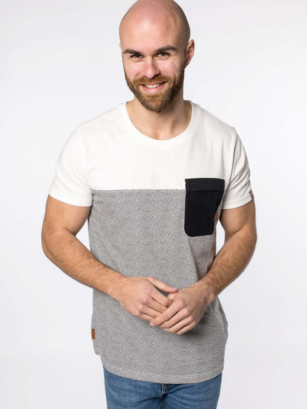 """Alife & Kickin Herren T-Shirt - """"LeoAK T-Shirt cloudy"""""""