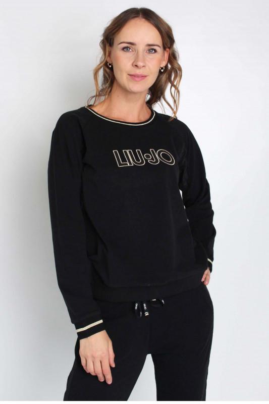 """LIU JO Damen Sweatshirt - """"ESC Felpa chiusa black"""""""