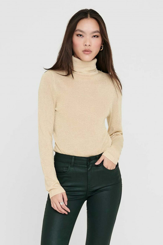 """ONLY Damen Pullover - """"Megan L/S Rollneck knt frosted"""""""