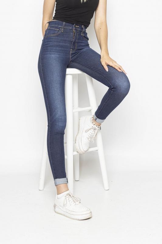 "LEVI'S Damen Jeans - ""Mile High Super Skinny dark"""