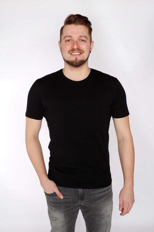 "DRYKORN Herren T-Shirt - ""Carlo Col. 100"""