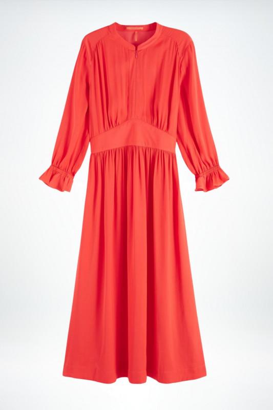 "SCOTCH & SODA Damen Kleid - ""Midi length Dress with fitted"""