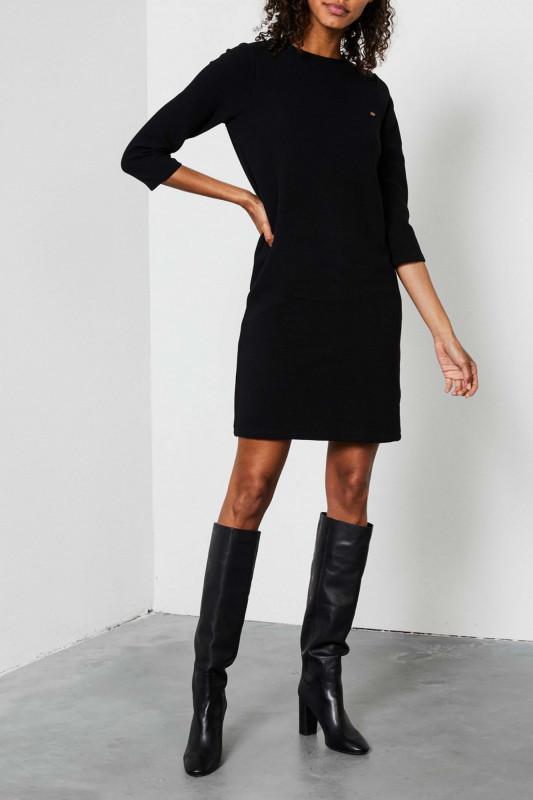 "PETROL Damen Kleid - ""Dress black"""