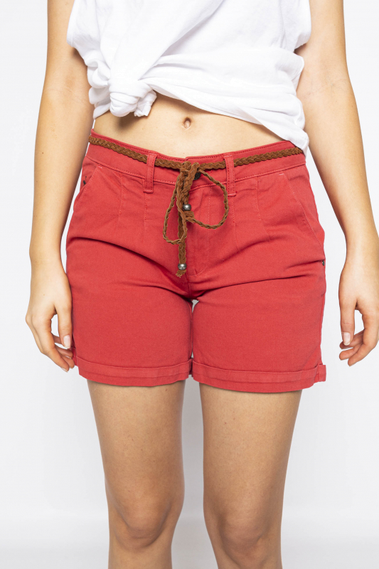 "MAZINE Damen Shorts - ""LUZ Shorts red"""