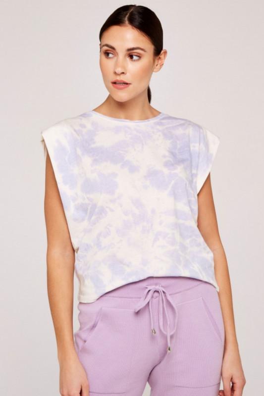 """APRICOT Damen T-Shirt - """"Retro Tie Dye lilac"""""""