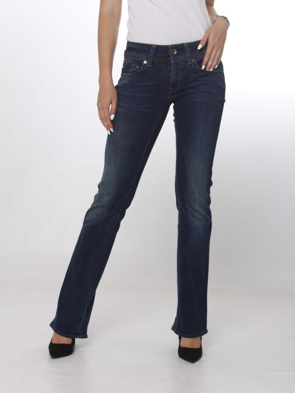 "G-Star Raw Damen Jeans - ""Midge Saddle Mid Skinny Bootcut"""
