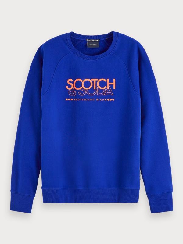 """Scotch & Soda Herren Longsleeve - """"Signature Sweat regualar fit"""""""