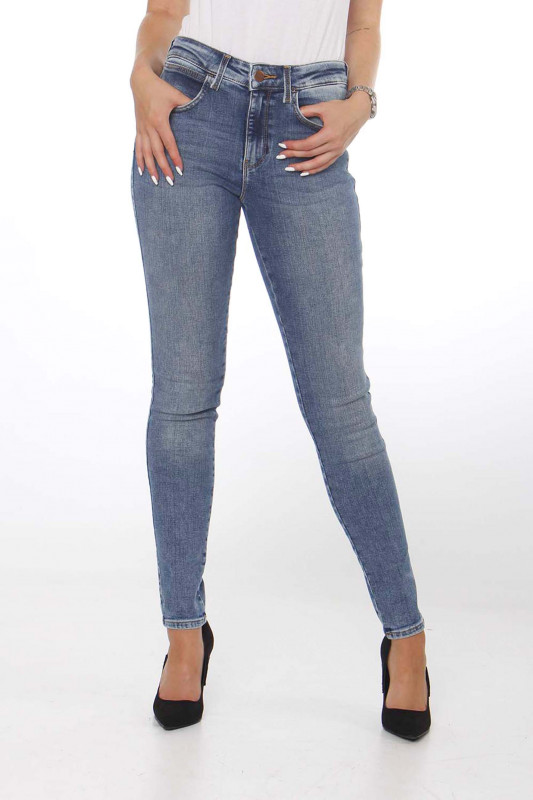 "WRANGLER Damen Jeans - ""Skinny water blue"""