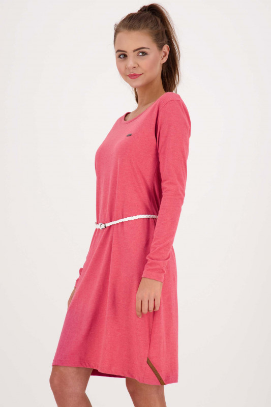 "ALIFE AND KICKIN Damen Kleid - ""ELLI LongAK Dress cranberry"""