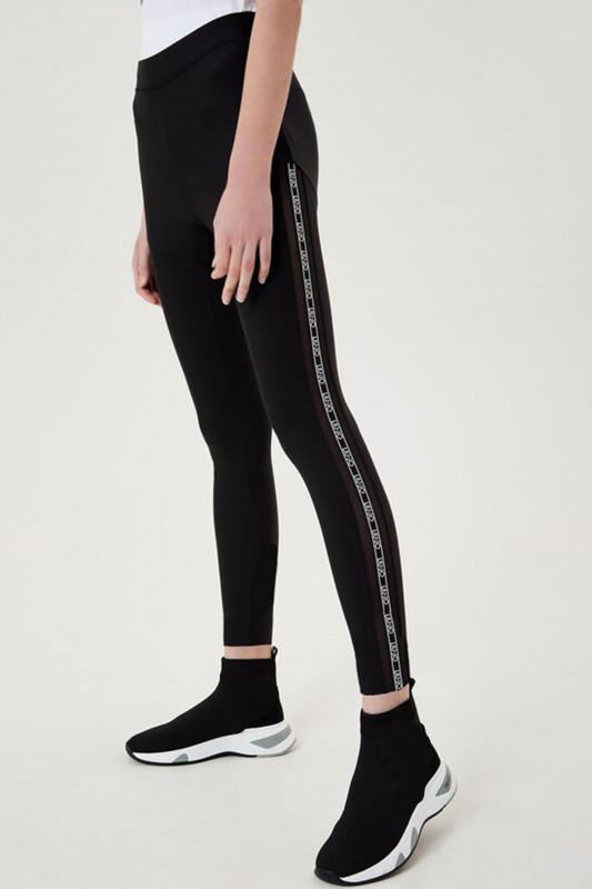 "LIU JO Damen Pants ""Leggings mit Logo-Galonstreifen"""