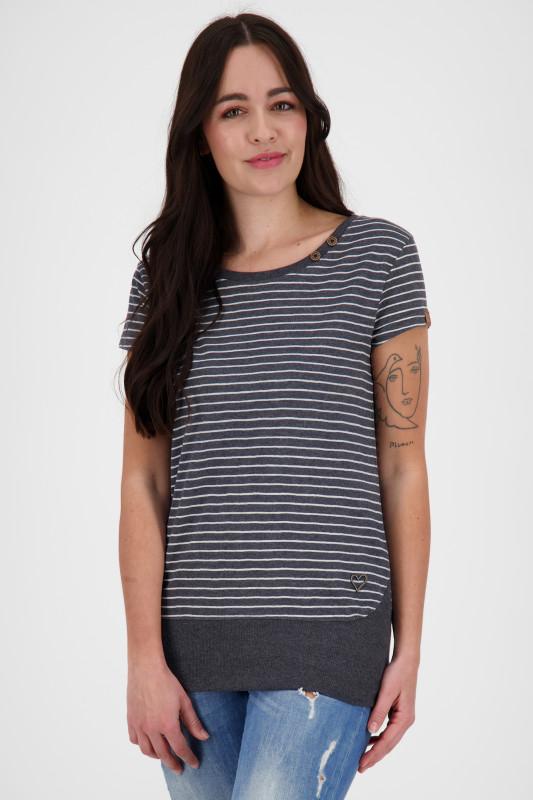 """ALIFE AND KICKIN Damen T-Shirt - """"CocoA shirt marine"""""""