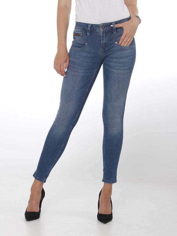 "FREEMAN T. PORTER Damen Jeans - ""Alexa Cropped S-SDM fiorino"""