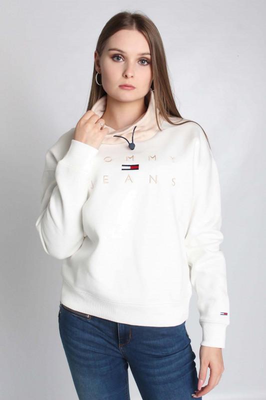"""TOMMY HILFIGER Damen Sweatshirt - """"TJW BXY TONAL LOGO 3 FUNNEL"""""""