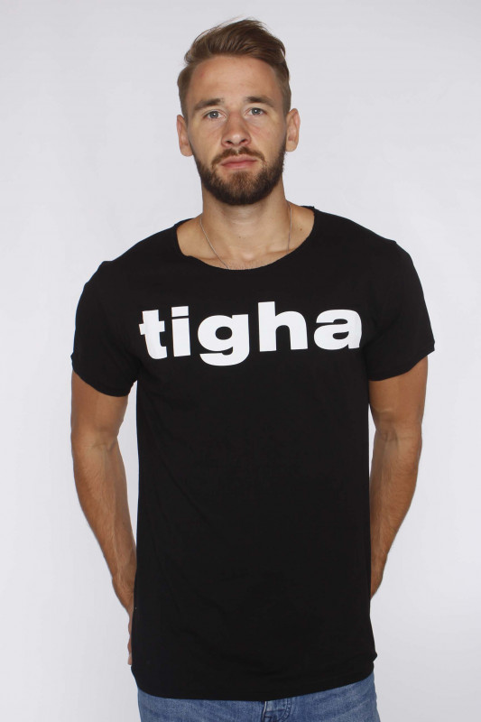 "Tigha Herren T-Shirt ""Tigha Logo MSN Black"""