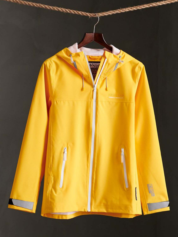 "Superdry Damen Jacke - ""LS ESSENTIALS HARPA WATERPROOF"""