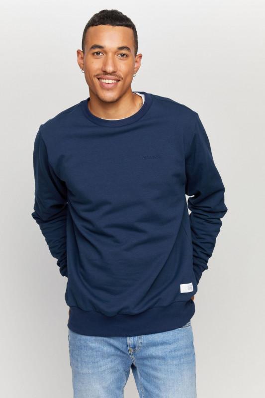 """MAZINE Herren Sweatshirt - """"Burwood Sweater navy"""""""