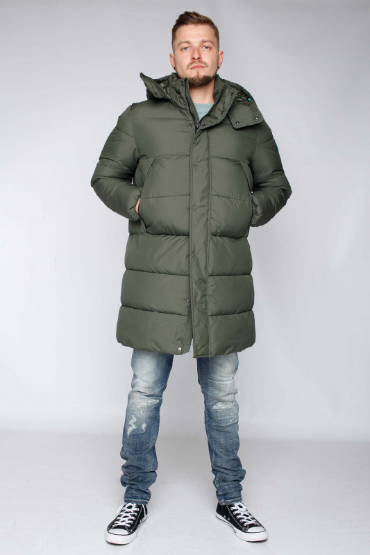 "SAVE THE DUCK Herren Parka - ""RECY thyme green"""