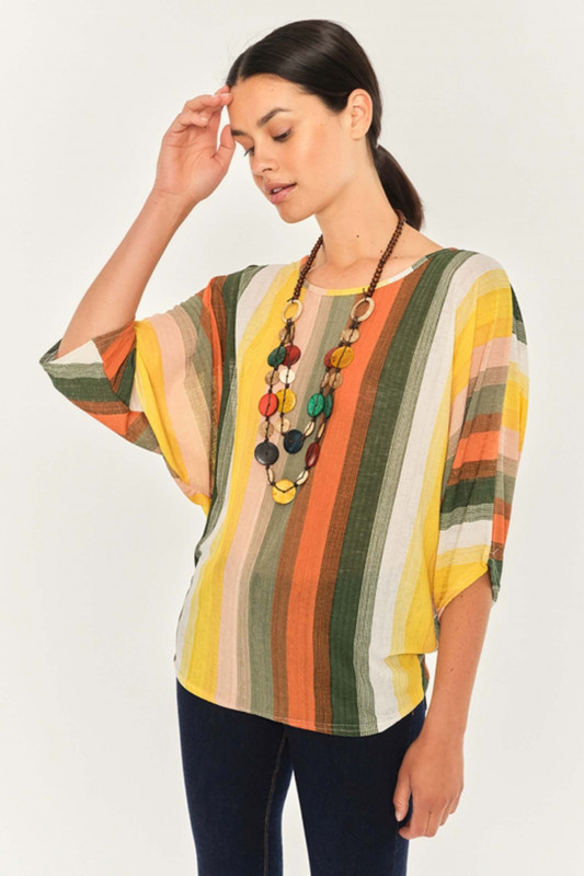 """APRICOT Damen T-Shirt - """"Stripe"""""""