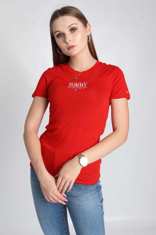 "TOMMY HILFIGER Damen T-Shirt - ""TJW SKINNY ESSENTIAL LOGO 1 TEE"""