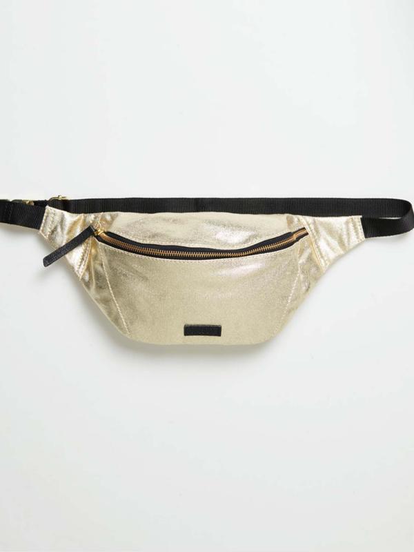 """Superdry Damen Gürteltasche- """"METALLIC BUM BAG GOLD FOIL"""""""