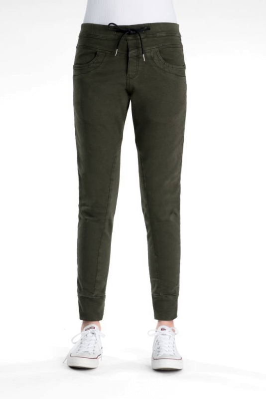 "CUP OF JOE Damen Jogginghose - ""Mila khaki"""