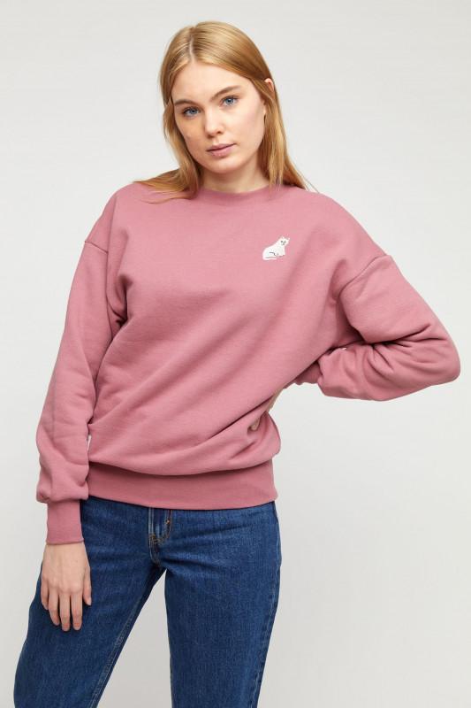 """MAZINE Damen Sweatshirt - """"May Sweater raspberry"""""""