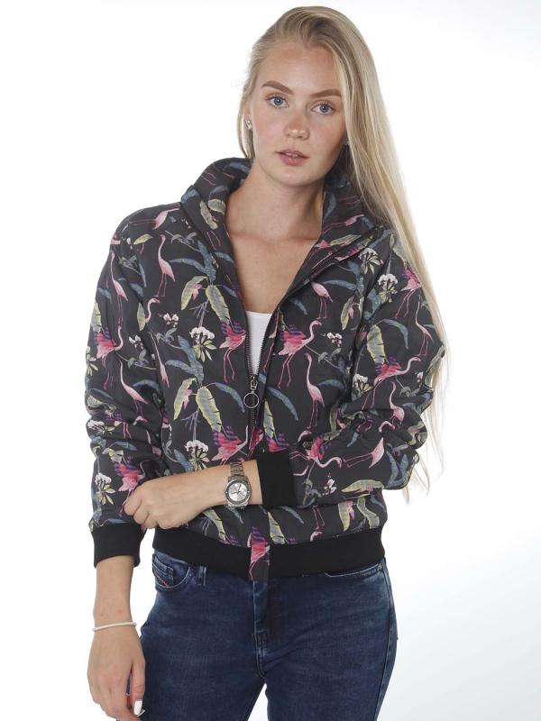 """MAZINE Damen Jacke - """"Karen jacket black/tropical"""""""