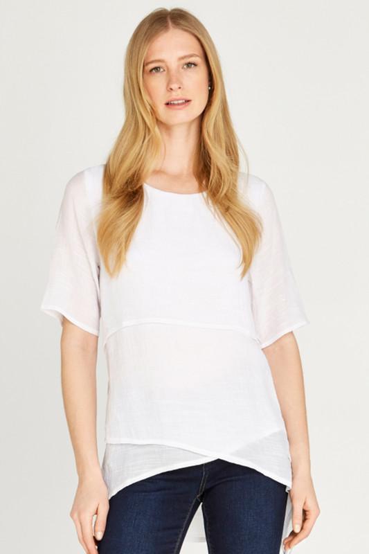 """APRICOT Damen T-Shirt - """"Layered"""""""