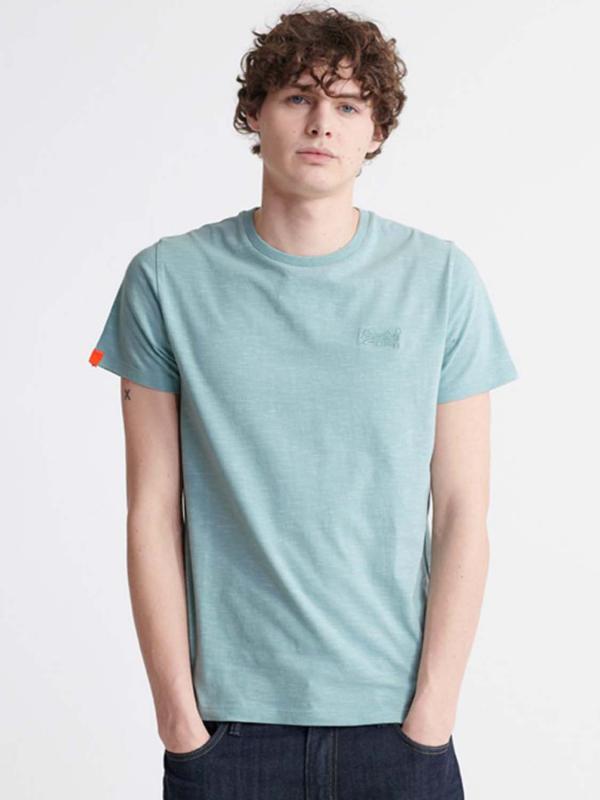 "Superdry Herren T-Shirt - ""OL VINTAGE EMB CREW FRESH MINT"""