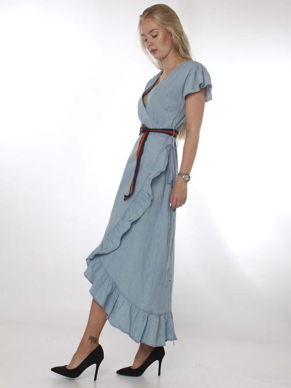 """PETROL Damen Kleid - """"Dress faded stone"""""""
