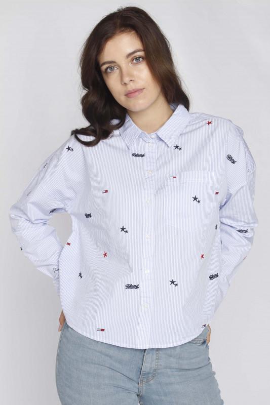 """TOMMY HILFIGER Damen Bluse - """"Critter Print Shirt moderate"""""""