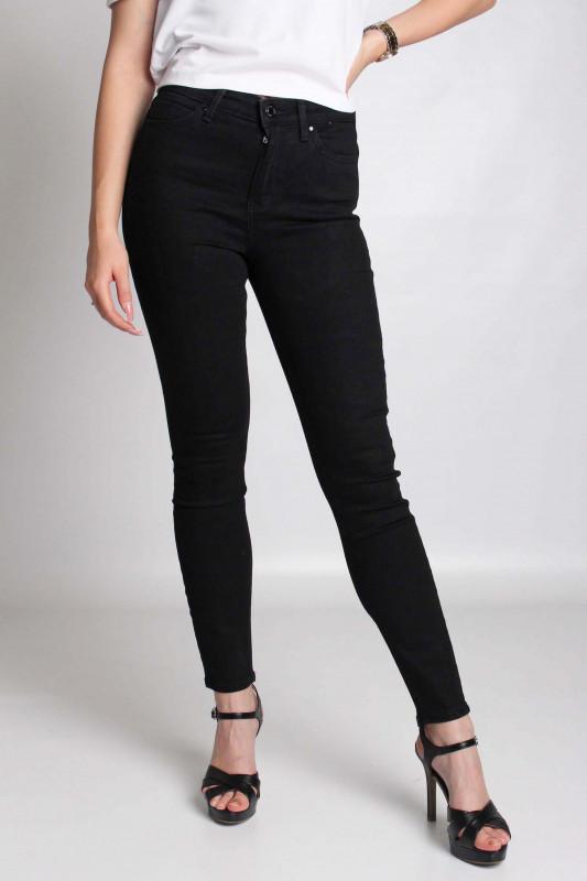 "GUESS Damen Jeans - ""CARRIE BLACK SKINNY"""