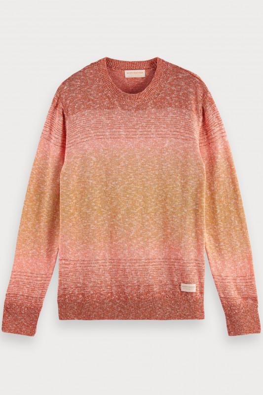 "SCOTCH & SODA Herren Sweatshirt - ""Recycled Crewneck Pull Mel Knit"""