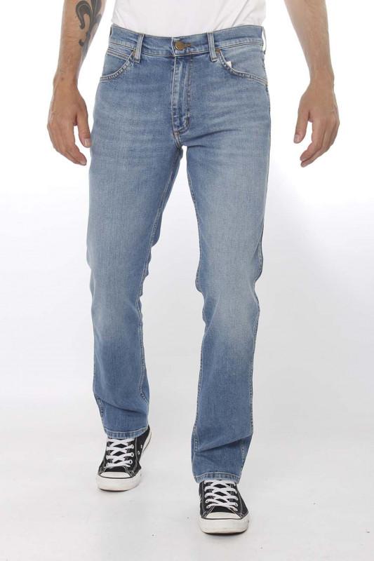 """Wrangler Herren Jeans """"Greensboro mid summer blue Denim"""""""