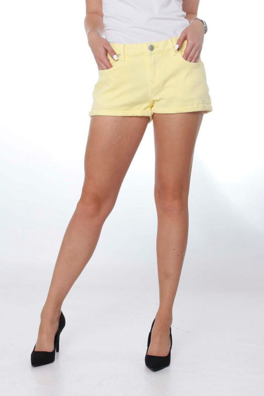"LTB Damen Shorts - ""Judie lime shade wash"""