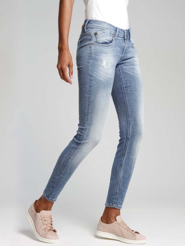 """GANG Damen Jeans - """"Faye blue reform blue old"""""""