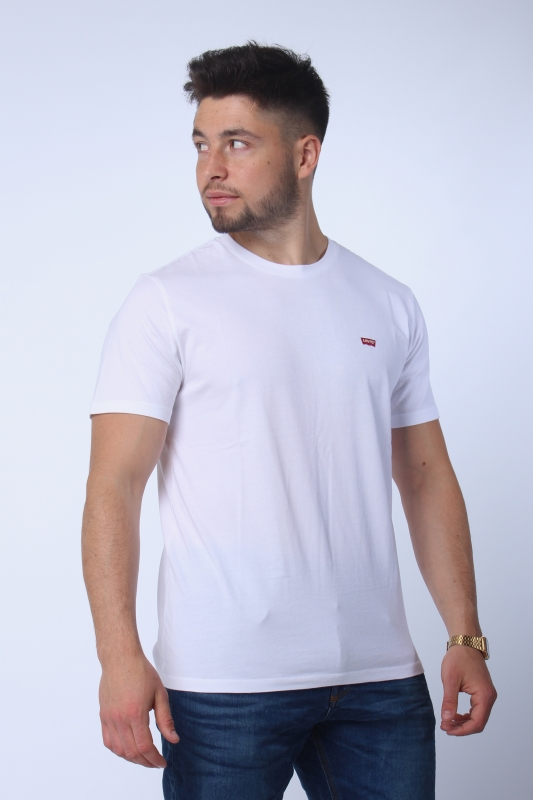"LEVI'S Herren T-Shirt - ""SS Original hm Tee patch white"""
