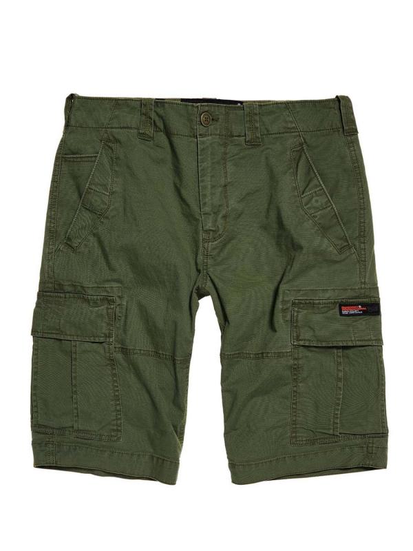 "Superdry Herren Shorts - ""CORE CARGO SHORTS DRAFT OLIVE"""