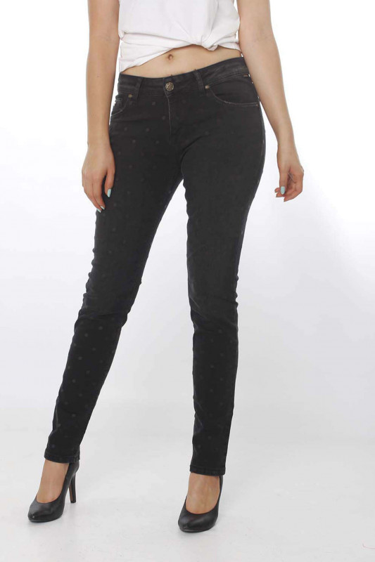 "ZHRILL Damen Jeans - ""Nova black W9216"""