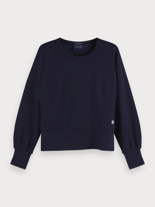 "Maison & Scotch Damen Sweatshirt - ""Chic crewneck sweat"""
