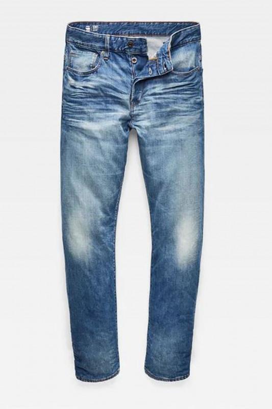 """G-STAR RAW Herren Jeans - """"3301 relaxed fleck denim medium"""""""