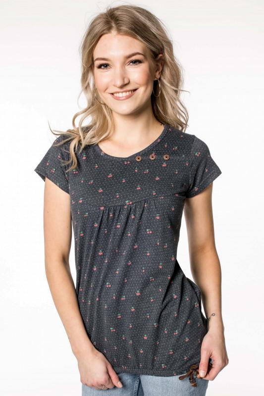 "ALIFE AND KICKIN Damen T-Shirt - ""SUMMER Shirt marine"""