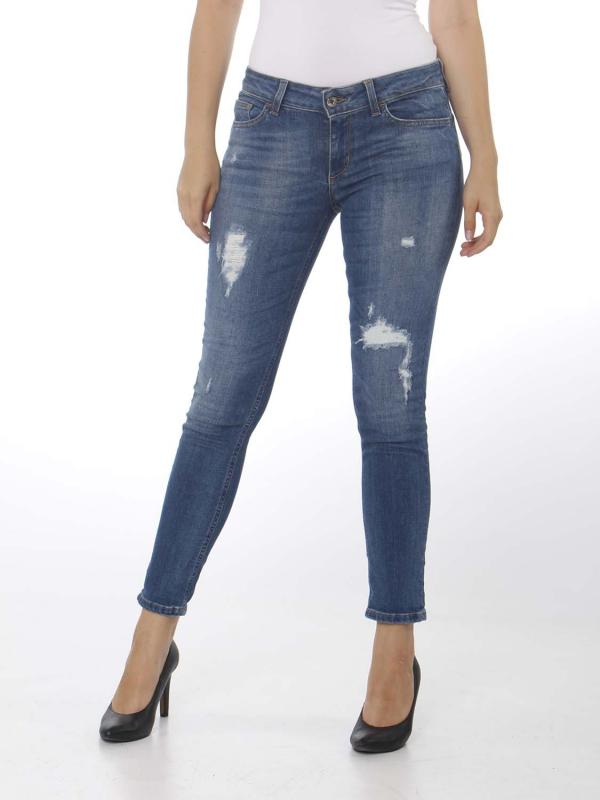 "Liu Jo Damen Jeans . ""ESC B.up cute h.w. den. blue s"""