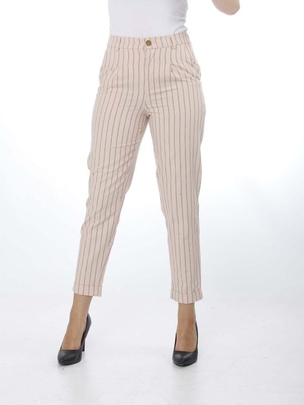 "SCOTCH & SODA Damen Hose - ""Straight pinstripe pants"""