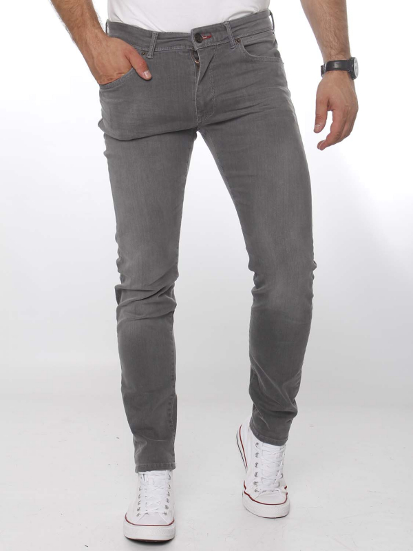 "PETROL Herren Jeans - ""Seaham classic grey"""