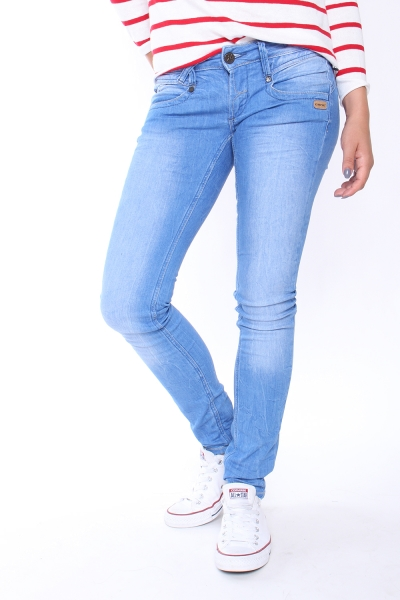 "GANG Damen Jeans - ""Nena BB Denim bright blue wash"""
